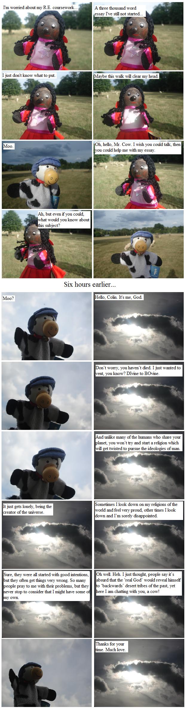 Colin Meets God