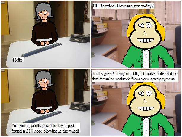 Beatrice Goes to the Job Centre 6